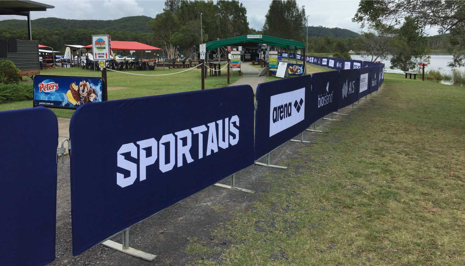 Outdoor Event Signage